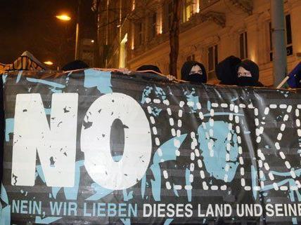 2015 ist die NOWKR-Demo untersagt worden.