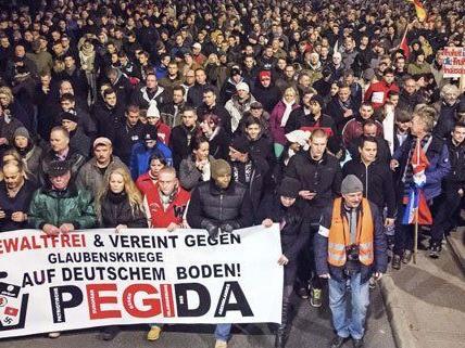 Auch in Wien soll bald eine Pegida-Kundgebung stattfinden.