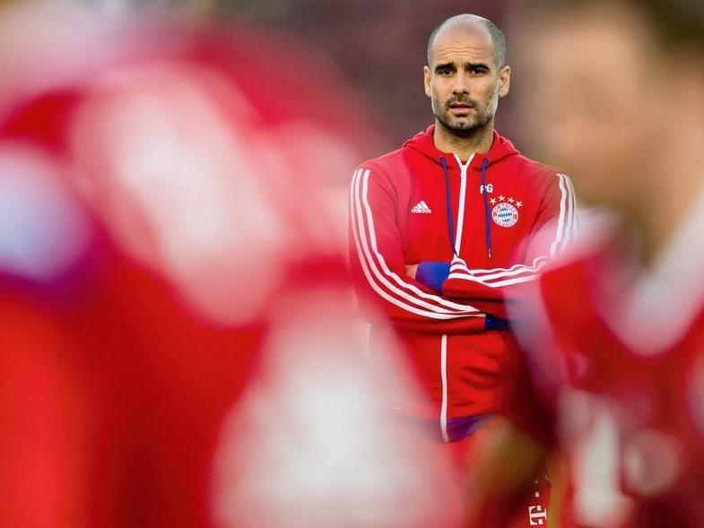 Pep Guardiola peilt mit den Bayern die Titelverteidigung an.