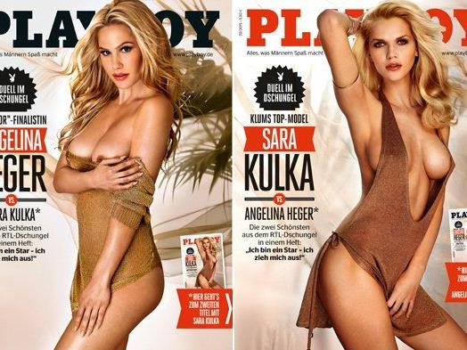 Angelina Heger  nackt