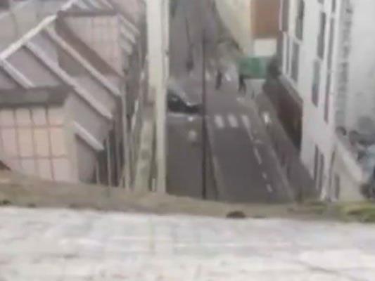 Video zeigt Täter auf der Flucht.