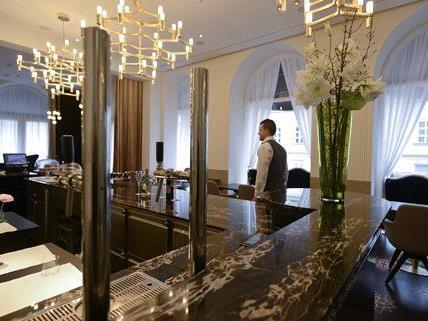 Das Sans Souci gehört zu den beliebtesten Hotels in Wien.