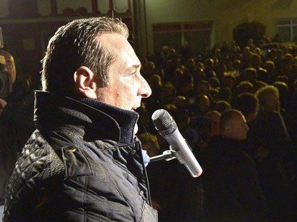 An der Pegida-Demo in Wien nimmt Strache nicht teil.