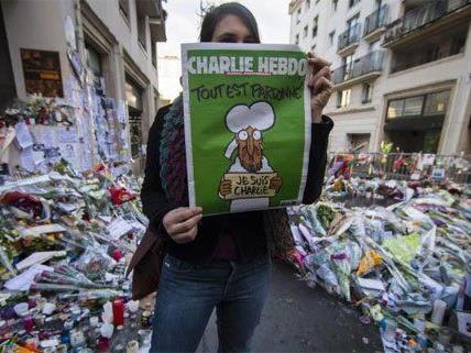"""Solidarität, aber auch Angst herrschen nach den Anschlägen auf das Magazin """"Charlie Hebdo""""."""