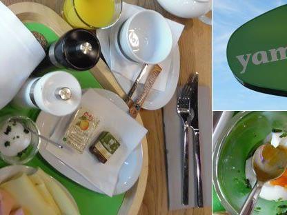 Das Wiener Frühstück kostet im yamm! 7,90 Euro.