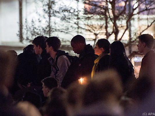 Trauer um drei Studenten
