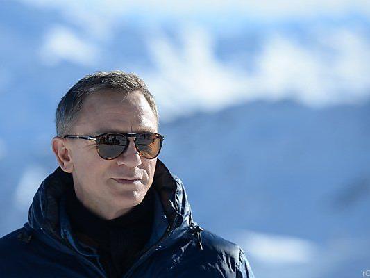 Daniel Craig war für Dreharbeiten in Sölden