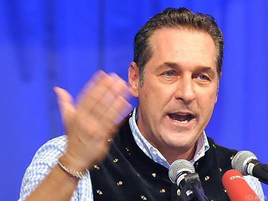 Alljährlicher Rundumschlag von FPÖ-Chef Strache