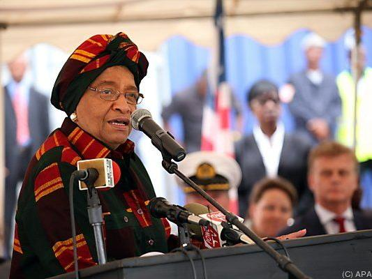 Liberianische Präsidentin hob Ausgangssperre auf