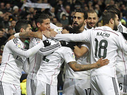 Fünfter Sieg in Serie für die Madrilenen