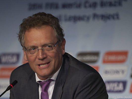 FIFA Generalsekretär Valcke sieht keinen Grund für Entschädigungen