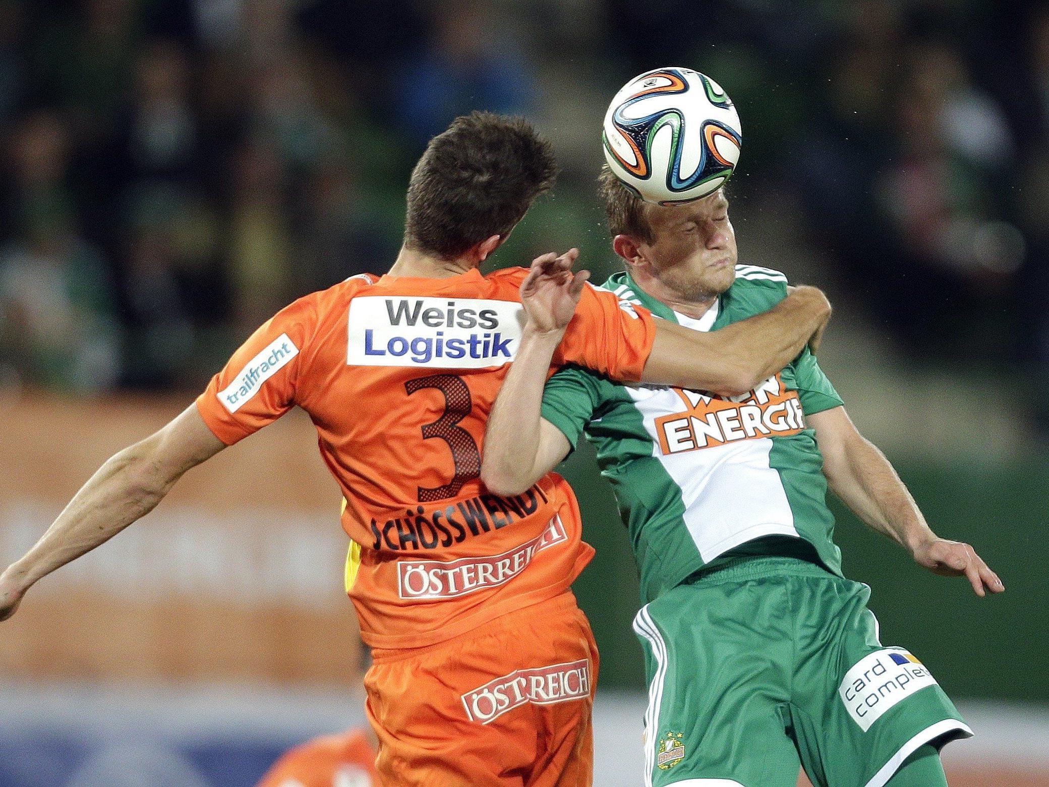 LIVE-Ticker zum Spiel FC Admira Wacker Mödling gegen SK Rapid Wien ab 16.30 Uhr.