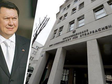 Der frühere kasachische Botschafter in Österreich Rakhat Aliyev wurde in der JA Josefstadt tot gefunden