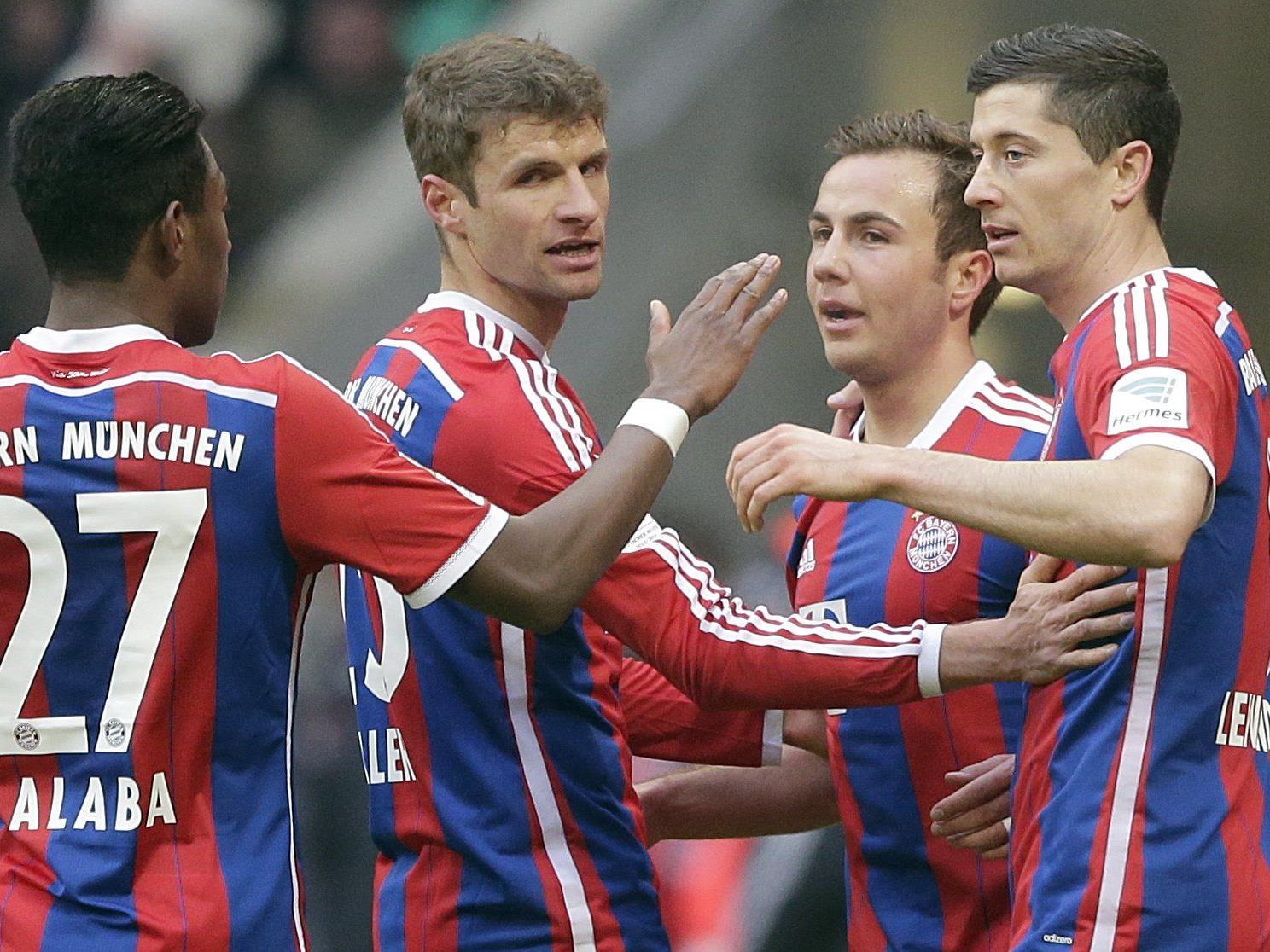 Champions-League-Comeback von Alaba beim Achtelfinal-Gastspiel der Münchner in Lemberg.