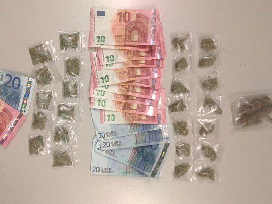 Bargeld und Drogen wurden sichergestellt