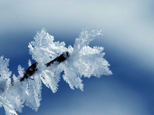 Schnee und Eis bleiben uns auch in der kommenden Woche erhalten