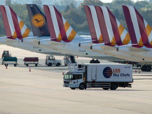 Streik bei Germanwings - auch Flüge ab Wien sind betroffen
