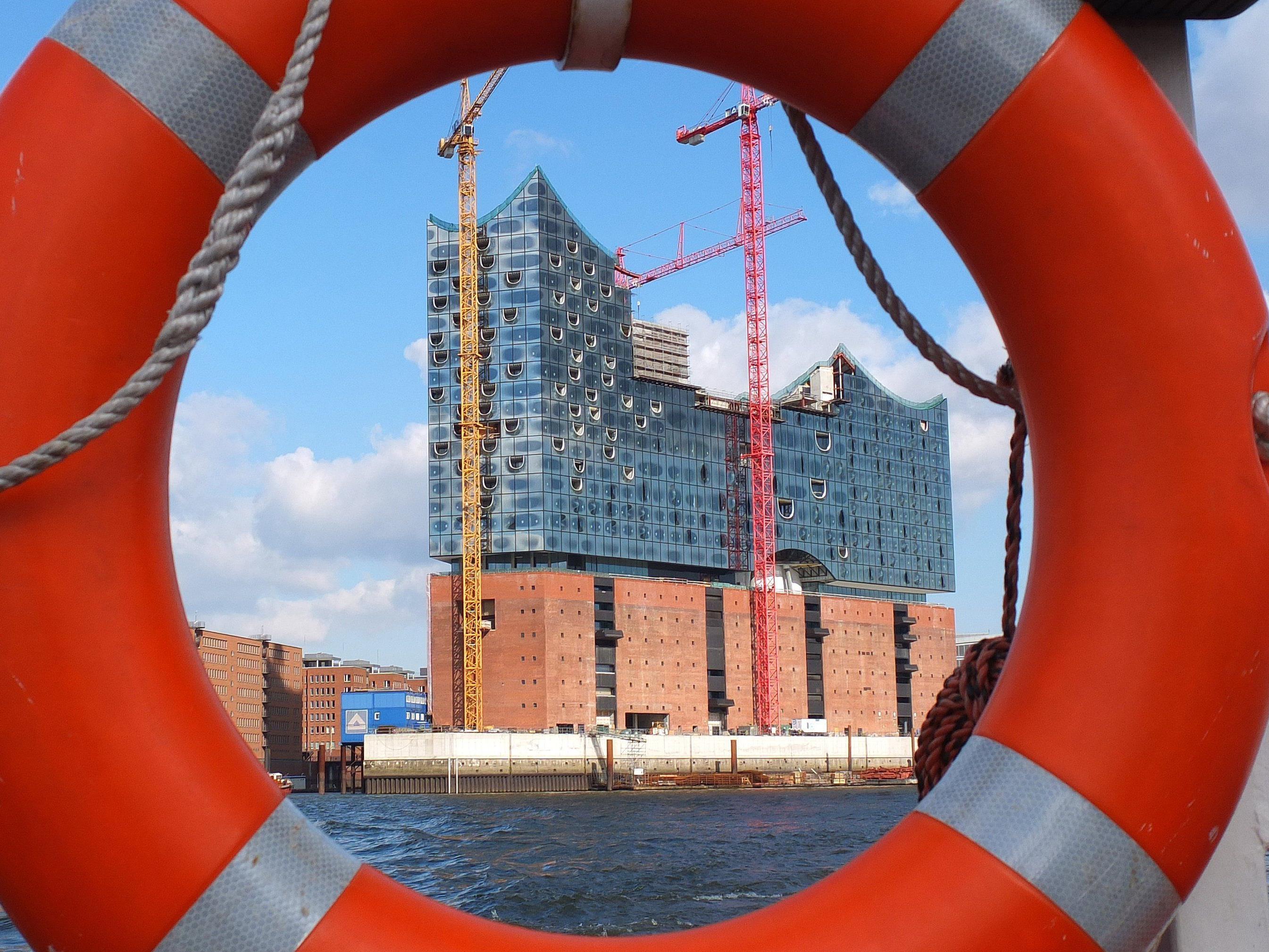 Baubeginn der Hamburger Elbphilharmonie war bereits im Jahr 2007.