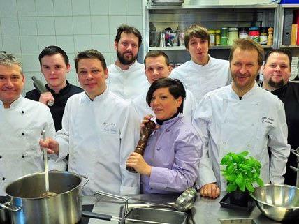 Zahlreiche Wiener Haubenköche kochen bei der Restaurantwoche auf.