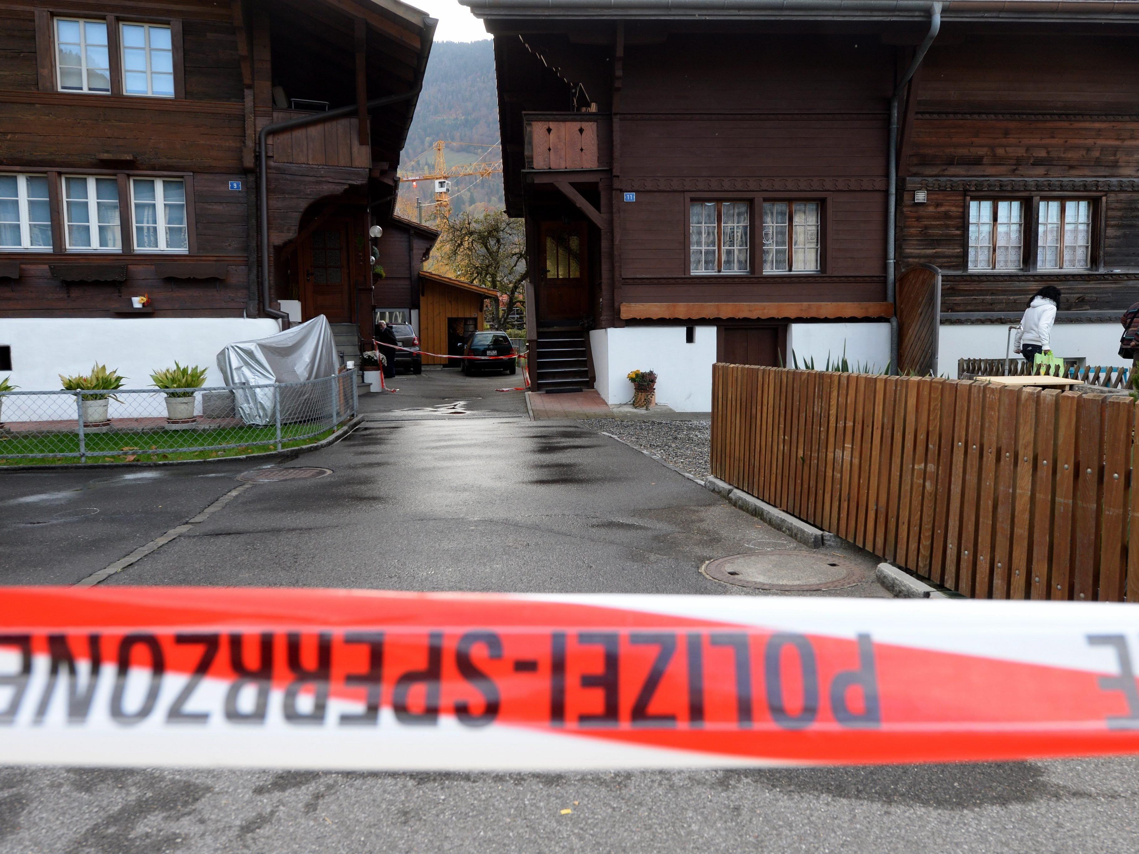 In der Schweiz kam es am Wochenende zu einem Familiendrama.