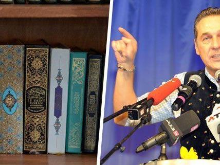 Erhebliche Kritik am geplanten Islamgesetz äußerte HC Strache