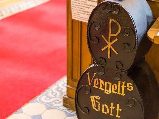 Ein Dieb hatte es auf einen Opferstock in Klosterneuburg abgesehen