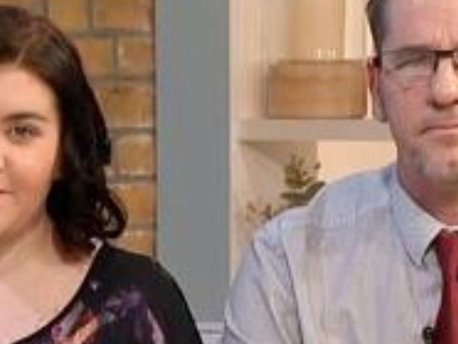 Leah Collis und ihr Vater Brendan jagen im Internet Pädophile.