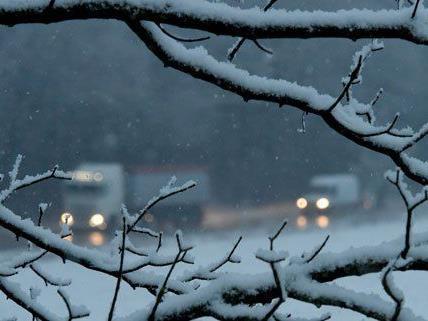 Große Mengen an Neuschnee werden vor dem Wochenende erwartet.