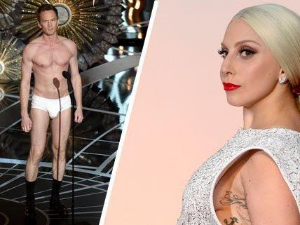 Neil Patrick Harris und Lady Gaga ernteten nach den Oscars Spott im Internet.