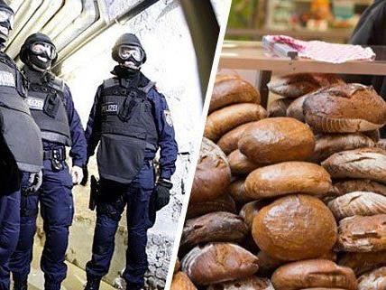 Wegen des angeblichen Überfalls auf die Bäckerei hatte es einen WEGA-Einsatz gegeben