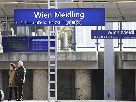 Eine Bombendrohung betraf den Bahnhof Wien-Meidling