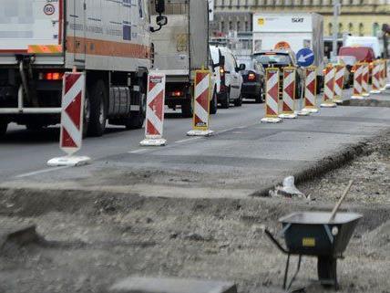 Heuer stehen Bauarbeiten in der Westausfahrt an.