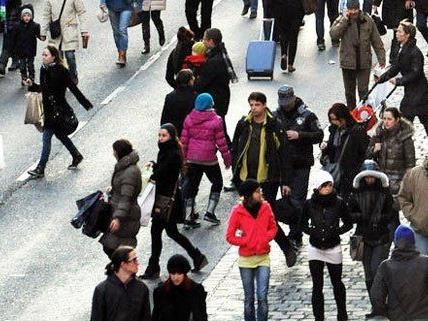 Österreichs Bevölkerung wächst deutlich an.