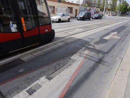 Tödlicher Unfall auf der Hetzendorferstraße.