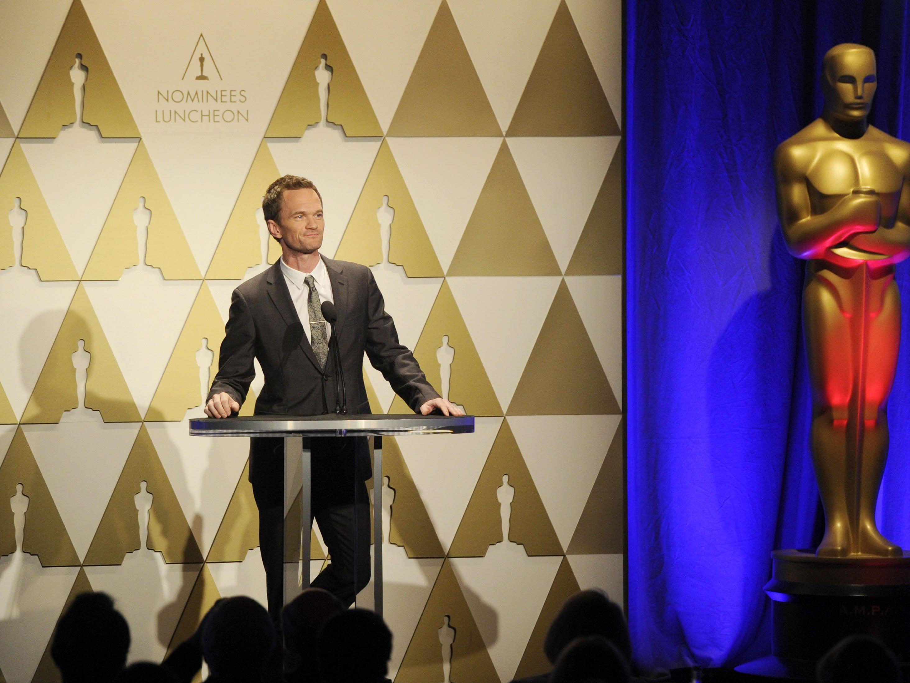 Neil Patrick Harris will bei der Oscar-Moderation alles richtig machen.