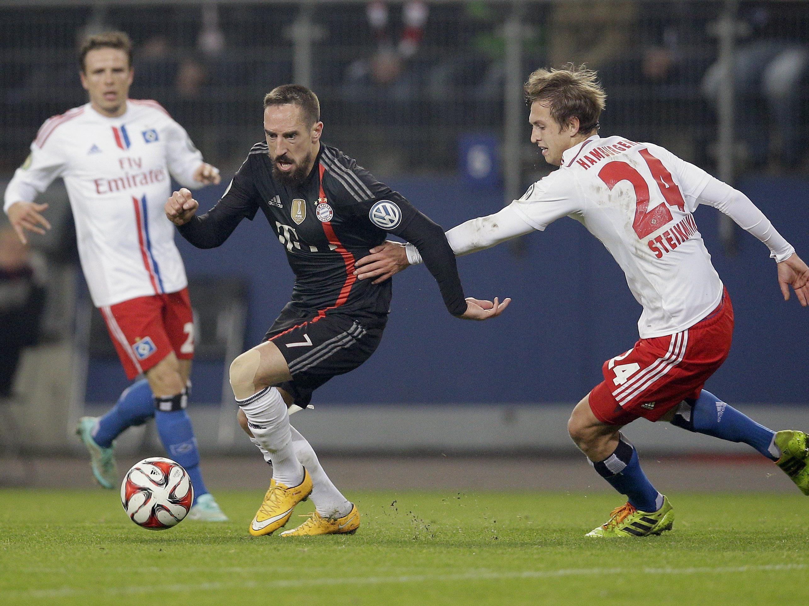 LIVE-Ticker zum Spiel Bayern München gegen HSV ab 15.30 Uhr.