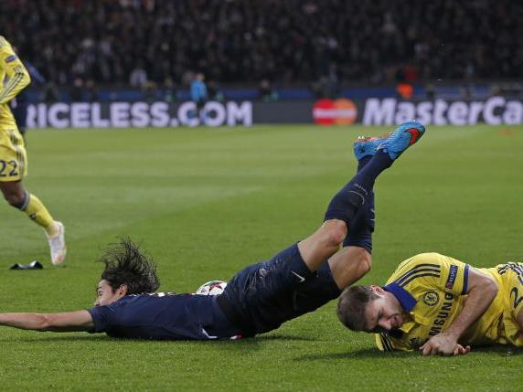 Cavani und Ivanovic erzielten die Tore in Paris