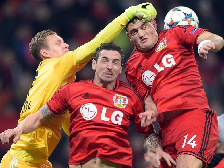 Harte Duelle in Leverkusen