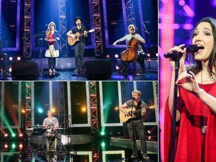 Dawa, Folkshilfe und Celina Ann haben es unter die sechs Finalisten geschafft.