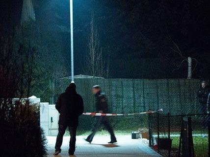 Am Tatort in Wien-Floridsdorf