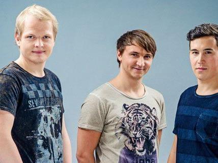 Das Trio Folkshilfe möchte Österreich beim Song Contest vertreten.