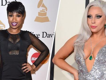 Jennifer Hudson und Lady Gaga treten bei den Oscars 2015 auf.
