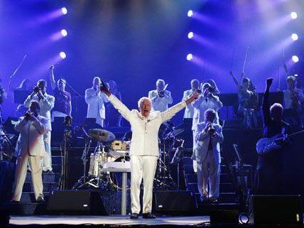 Am 23. April tritt James Last in der Wiener Stadthalle auf.