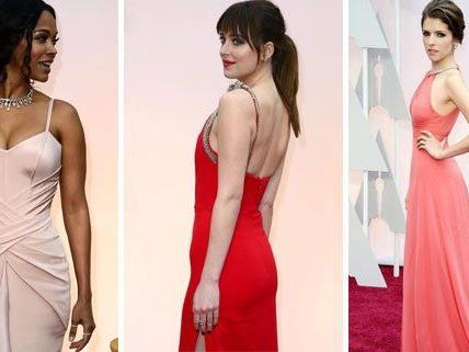 Bei den Oscars 2015 zogen diese Damen alle Blicke auf sich.