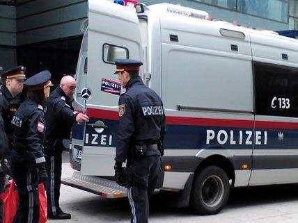 Die Polizei hat am Montag eine 42-jährige Randaliererin festgenommen.