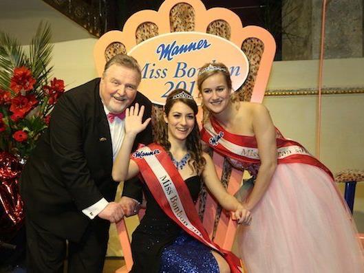 Strahlende Freude bei der frisch gebackenen Miss Bonbon 2015