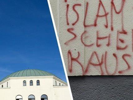 Moschee in Wien wurde verunstaltet
