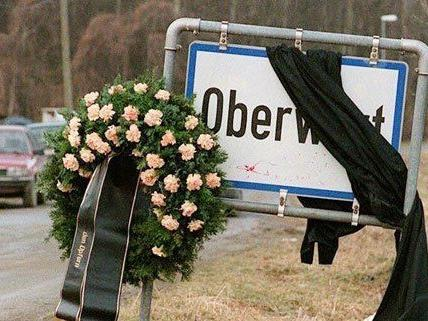In Oberwart wird den Opfern des Anschlags gedacht.