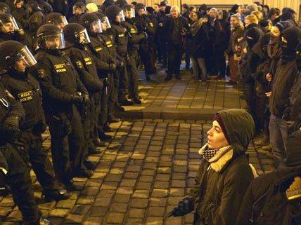 Bis zu 800.000 Euro hat der Polizeieinsatz am Montag gekostet.