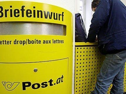 Bei der Post werden die Brief-Tarife erhöht